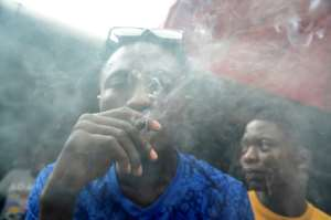 Up in smoke: Nigeria has virtually no facilities to help people who become addicted to drugs.  By PIUS UTOMI EKPEI (AFP)