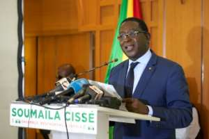 Veteran opposition leader Soumaila Cisse was kidnapped while campaigning in the conflict-ravaged centre of the country.  By Michele CATTANI (AFP/File)