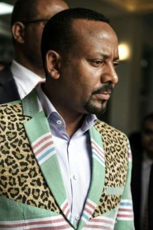 Violence in the volatile region is a major challenge for Ethiopian Prime Minister Abiy Ahmed, who was awarded the 2019 Nobel Peace Prize last week.  By EDUARDO SOTERAS (AFP/File)