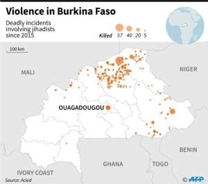 Violence in Burkina Faso.  By  (AFP)