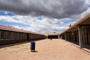 Vusisizwe Secondary School. By RODGER BOSCH (AFP)