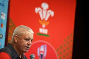 Wales, coached by Warren Gatland, will start as favourites against a mercurial French side in the Rugby World Cup quarter-finals.  By Charly TRIBALLEAU (AFP/File)