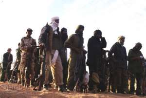 Much of the north remains in the hands of Tuareg rebels and Islamists.  By - (AFP)