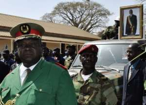 Guinea Bissau's army chief of staff, General Antonio Indjai, is the head of the junta.  By Mamadu Alfa Balde (AFP)