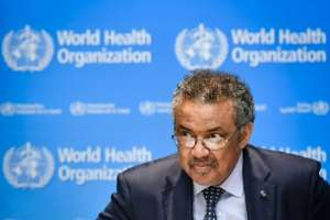 WHO's Director-General Tedros Adhanom Ghebreyesus said the outbreak remains 'complex and dangerous'.  By Fabrice COFFRINI (AFP)