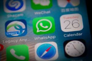 Whatsapp, Twitter, Facebook and other social media have been major vectors of fake news in Nigeria. By NICOLAS ASFOURI (AFP/File)
