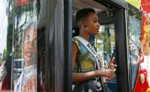 When she was crowned Miss Universe, she vowed she wants to help change beauty norms.  By Phill Magakoe (AFP)