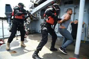 While attacks by pirates have declined globally including in other hotspots like the Gulf of Aden off Somalia, the numbers remain steady off West Africa.  By PIUS UTOMI EKPEI (AFP)