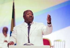 With no parliament in place, the government now refers solely to Gabon's President Ali Bongo.  By Steve JORDAN (AFP/File)