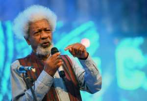 Wole Soyinka, the 1986 winner of the Nobel Prize for Literature who comes from Abeokuta, addressed the festival where Epega performed opera in Pidgin. By PIUS UTOMI EKPEI (AFP/File)