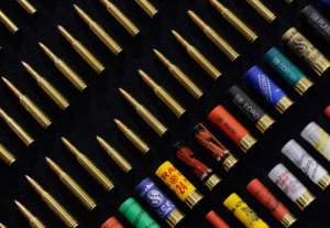 The world trade in ammunition now tops $4 billion a year.  By Ethan Miller (AFP/Getty Images)