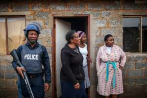 Xenophobic violence had resurfaced regularly in South Africa.  By Michele Spatari (AFP/File)