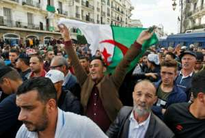 'You have sold the country, you traitors!' demonstrators shouted, addressing the authorities that have become the focus of protest ire since the demand for longstanding leader Abdelaziz Bouteflika's resignation was met in April.  By - (AFP)
