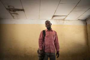 Zacharia, a refugee who has won a grant to study at a local university, says that as time passes, one of the biggest tasks is to remind people of the atrocities of Darfur. By Amaury HAUCHARD (AFP)