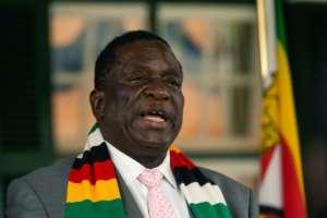 Zimbabwe President Emmerson Mnangagwa's government insisted there was no 'crisis'.  By Jekesai NJIKIZANA (AFP/File)