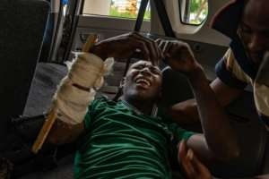 Zimbabwe security forces have faced accusations of shootings, beatings and abductions duing the crackdown.  By ZINYANGE AUNTONY (AFP/File)