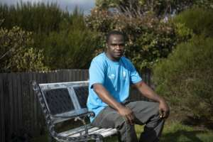 Zimbabwean Jonas Muza quit demining in 2015 and settled in the Falklands.  By Pablo PORCIUNCULA BRUNE (AFP)