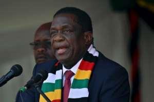Zimbabwe's President Emmerson Mnangagwa took over from deposed leader Robert Mugabe.  By TONY KARUMBA (AFP/File)