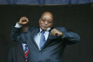 Zuma often regaled crowds by singing the rousing anti-apartheid struggle song