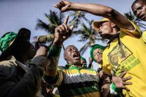 Zuma has been charged with 16 counts of fraud, racketeering and money laundering.  By GIANLUIGI GUERCIA (AFP/File)