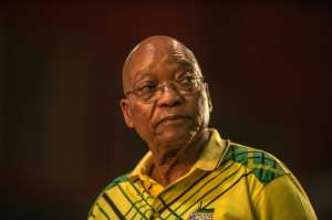Zuma loyalists have said that the serving president should complete his second and final term in office, which would end when elections are held next year..  By MUJAHID SAFODIEN (AFP/File)