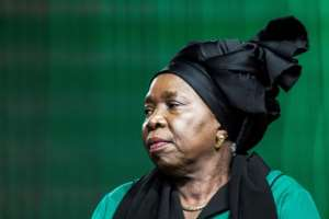Zuma's ex-wife Nkosazana Dlamini-Zuma is seeking to be the next ANC president