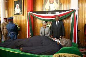 A mixed legacy.  By HIRAM OMOMDI (PARLIAMENT PRESS OFFICE/AFP)