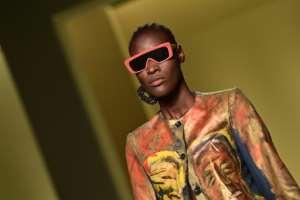 Burundi's fashion stylist Fabiola Manirakiza, founder of the fashion house Frida-Kiza, from the collective