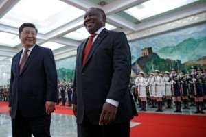 A number of leaders are in Beijing for a major China-Africa summit aimed at boosting cooperation.  By Andy Wong (POOL/AFP/File)
