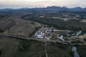 A camp at Chagni hosts people who have fled violence in the Metekel area.  By EDUARDO SOTERAS (AFP)