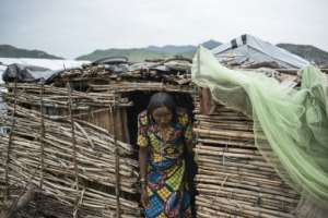 A Fulani woman, pictured last August at a camp for displaced people in Gwoza, northeast Nigeria.  By STEFAN HEUNIS (AFP)