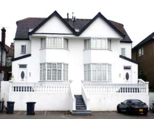 A property in a posh London suburb believed to be owned by a former Nigerian governor and bought with ill-gotten wealth.  By ANDREW STUART (AFP/File)