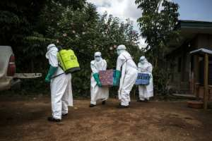 A recent decline in the death rate from Ebola, alongside a slight rise in the number of patients who recover, has failed to reassure residents.  By John WESSELS (AFP/File)