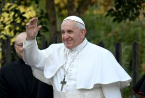 A statement from the Vatican said Pope Francis (pictured March 3, 2019) and diplomats had encouraged engagement to promote peaceful co-existance and