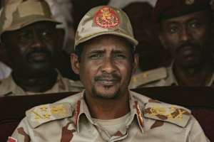 A top Sudanese general, Mohamed Hamdan Dagalo, warned Saturday that no vandalism would be tolerated.  By Yasuyoshi CHIBA (AFP/File)