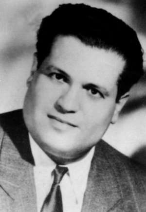 A undated file photo of Algerian lawyer Ali Boumendjel, who was also a member of underground resistance Algerian Liberation Front (FLN)..  By - (AFP/File)
