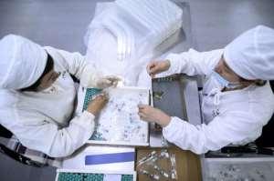 A vaccine remains months off at best despite several trials.  By NOEL CELIS (AFP)