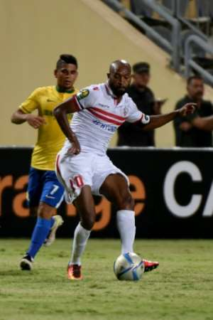 A wonder goal by captain and midfielder Shikabala after a 55-yard run set up Zamalek for a 4-0 first-leg CAF Champions League semi-final lead over one-time winners Wydad