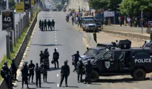 About 20 people have died since the protests began.  By CELLOU BINANI (AFP/File)
