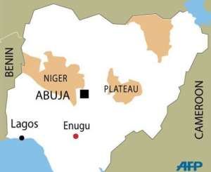 Scores of kidnappings for ransom have occurred in southern Nigeria.  By  (AFP Graphic)
