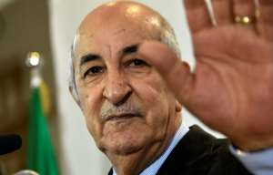 Abdelmadjid Tebboune, once a prime minister under Bouteflika, won a presidential election that saw a turnout of less than 40 percent, according to official data.  By RYAD KRAMDI (AFP/File)
