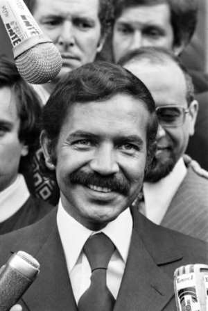 Abdelaziz Bouteflika, shown here in 1973, served as Algerian foreign minister for more than a decade. By - (AFP/File)