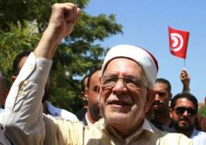 Abdelfattah Mourou, candidate of Tunisia Islamist-inspired Ennahda Party, will appear in the first debate on Saturday night.  By HASNA (AFP)