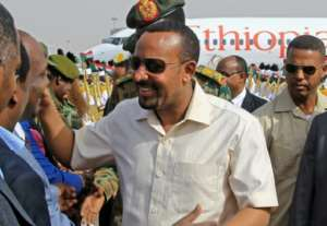 Abiy has sought a role in shaping events across the Horn of Africa.  By ASHRAF SHAZLY (AFP)