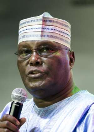 Abubakar faces repeat allegations of corruption.  By PIUS UTOMI EKPEI (AFP/File)