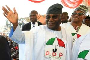 Abubakar, from the main opposition Peoples Democratic Party (PDP), is expected closely to challenge President Muhammadu Buhari, from the ruling All Progressives Congress party.  By PIUS UTOMI EKPEI (AFP)