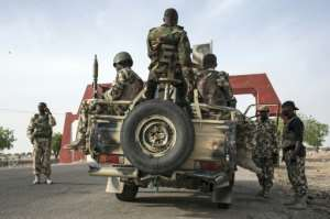 Abuja has deployed thousands of soldiers to combat Boko Haram's Islamist insurgency in northeast Nigeria.  By Stefan Heunis (AFP/File)