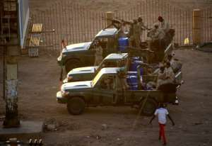 Agents of Sudan's National Intelligence and Security Service were at the forefront of a crackdown on protesters during the nationwide uprising that led to the ouster of longtime autocrat Omar al-Bashir last April.  By ASHRAF SHAZLY (AFP)
