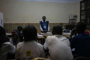 After two years of delays, crackdowns and political turmoil, the December 30 vote went ahead, as did the counting as here at Alfajiri Collage in Bukavu -- but as to who won, the wait continues.  By Fredrik Lerneryd (AFP/File)