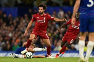 After notching 44 goals for his club in all competitions last season, Liverpool's Mohamed Salah has managed only three this season.  By Glyn KIRK (AFP/File)